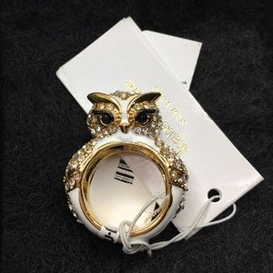 Kate Spade Owl Ring Star Bright size 7